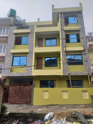 Flat system house  for sale in Balaju Boharatar