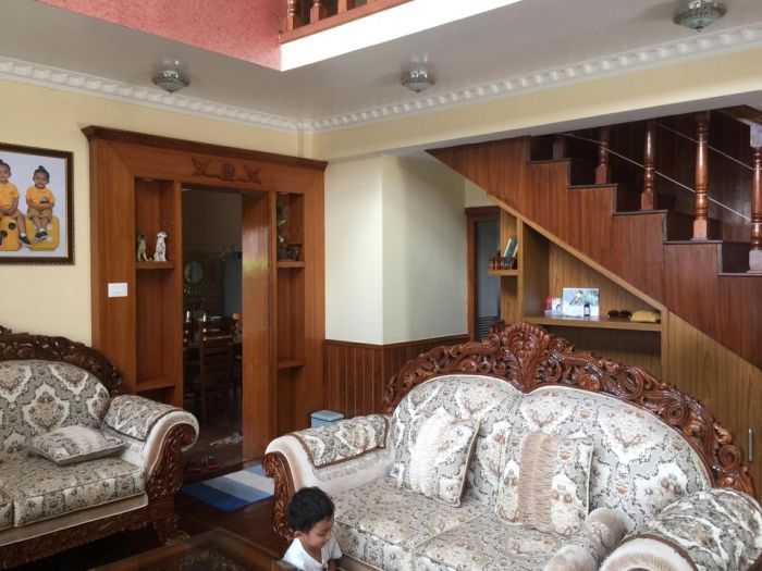 Bungalow with 12 aana land on sale at Narayanthan