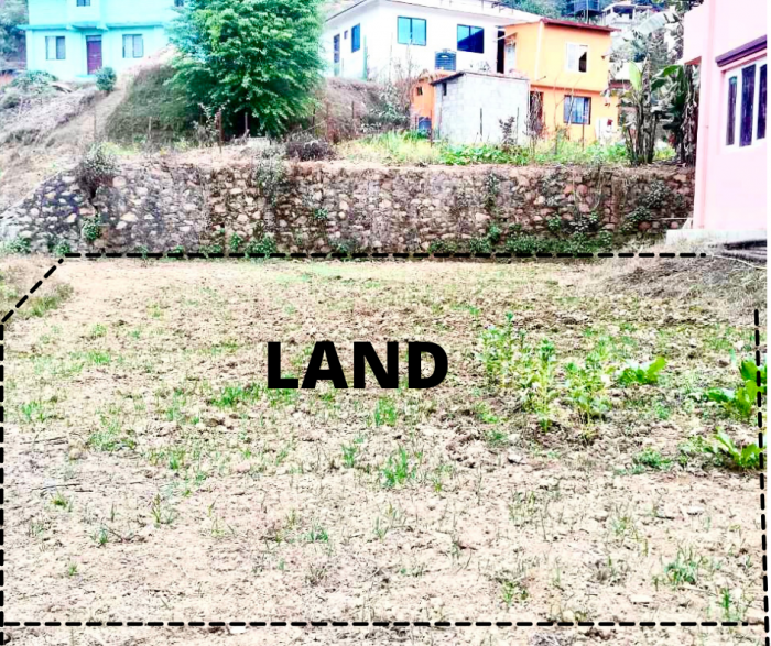 Land for sale in Godamchaur Godawari Lalitpur at very low price. Urgent Sale.